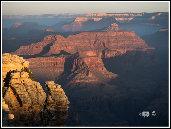 Sunrise Viewing From Mather Point