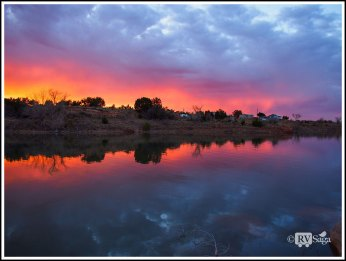 Mirror-Images-of-Firey-Sky-on-Sumner-Lake