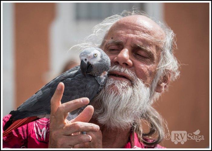 A Parrot Whisperer