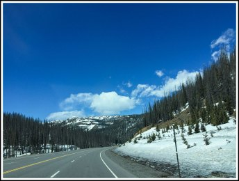 Crossing Wolf Creek Pass
