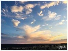A Sea of Clouds Above Cochiti Dam. New Mexico