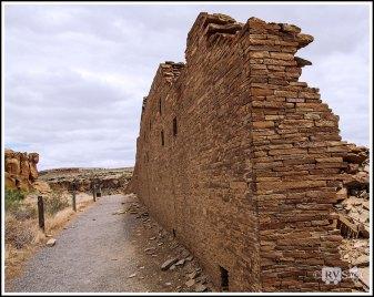 Elegant North Wall of Chetro Ketl