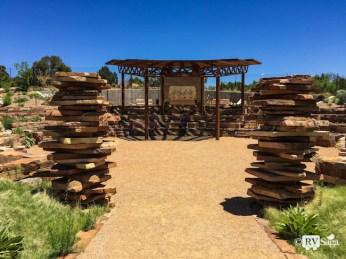 The Gathering Place at Santa Fe Botanical Garden