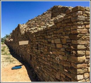 North Wall of Aztec Ruins