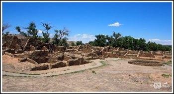 Overlook of Aztec Ruins