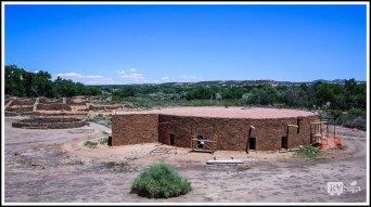 Reconstructed Great Kiva at Aztec Ruins