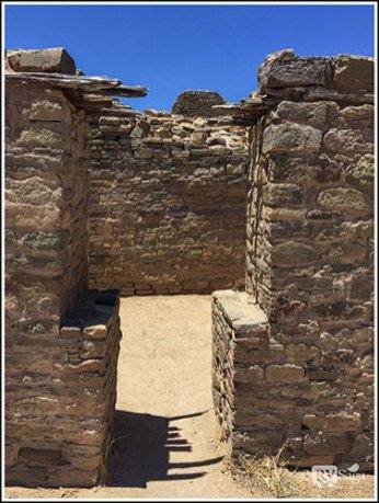 T-shaped Door at Aztec-Ruins
