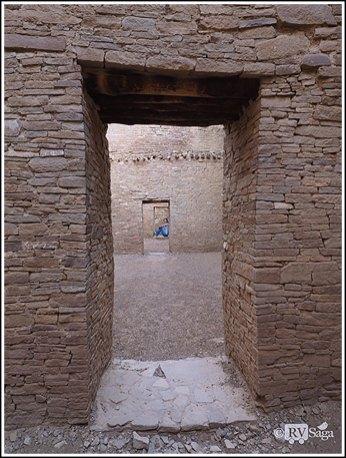 The Infinity Doorways of Pueblo Bonito. Photo credit: Stephen Jones