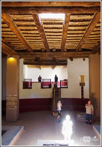 The Magic Light in Great Kiva at Aztec