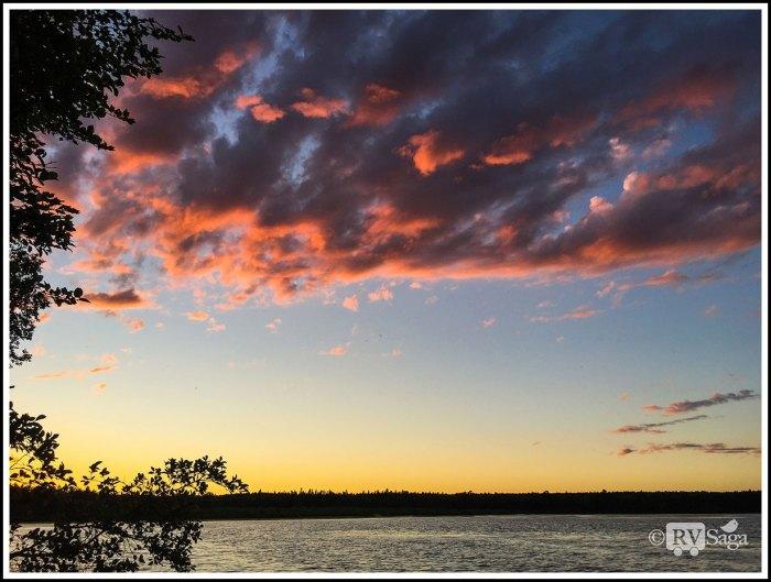 Sunset-Above-Brevort-Lake