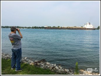 Watching Freighters