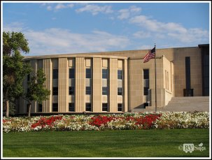 A Wing of Capital Building at Bismarck