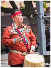 A Hopi Drummer
