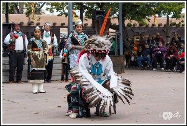 Zuni Boy in Eagle Costume