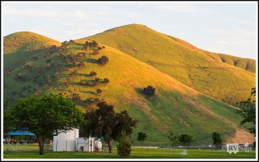 Mounded Hills at Sunset by Lake Success. Photo Credit: Stephen Jones