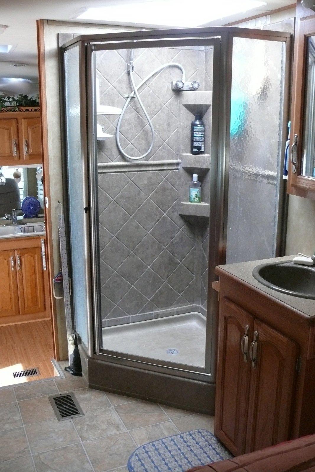 how to upgrade your rv shower rvshare com