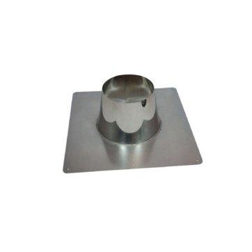 DW 80 x 130 dakplaat RVS 00-10 graden ZWART