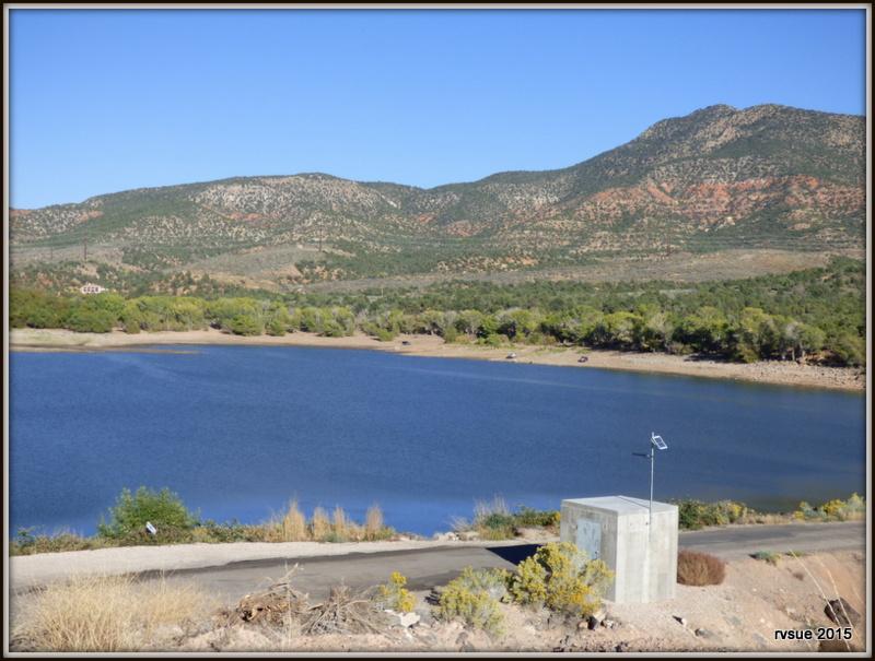 Baker dam reservoir campground north of st george utah for Fish lake utah camping