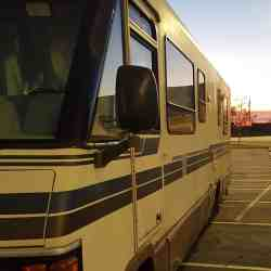 The RV Tailgate Life begins with a 1990 Winnebago Chieftan (Championship Edition)
