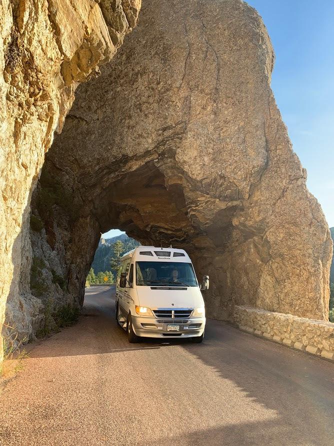 RV Sprinter Rental Badlands