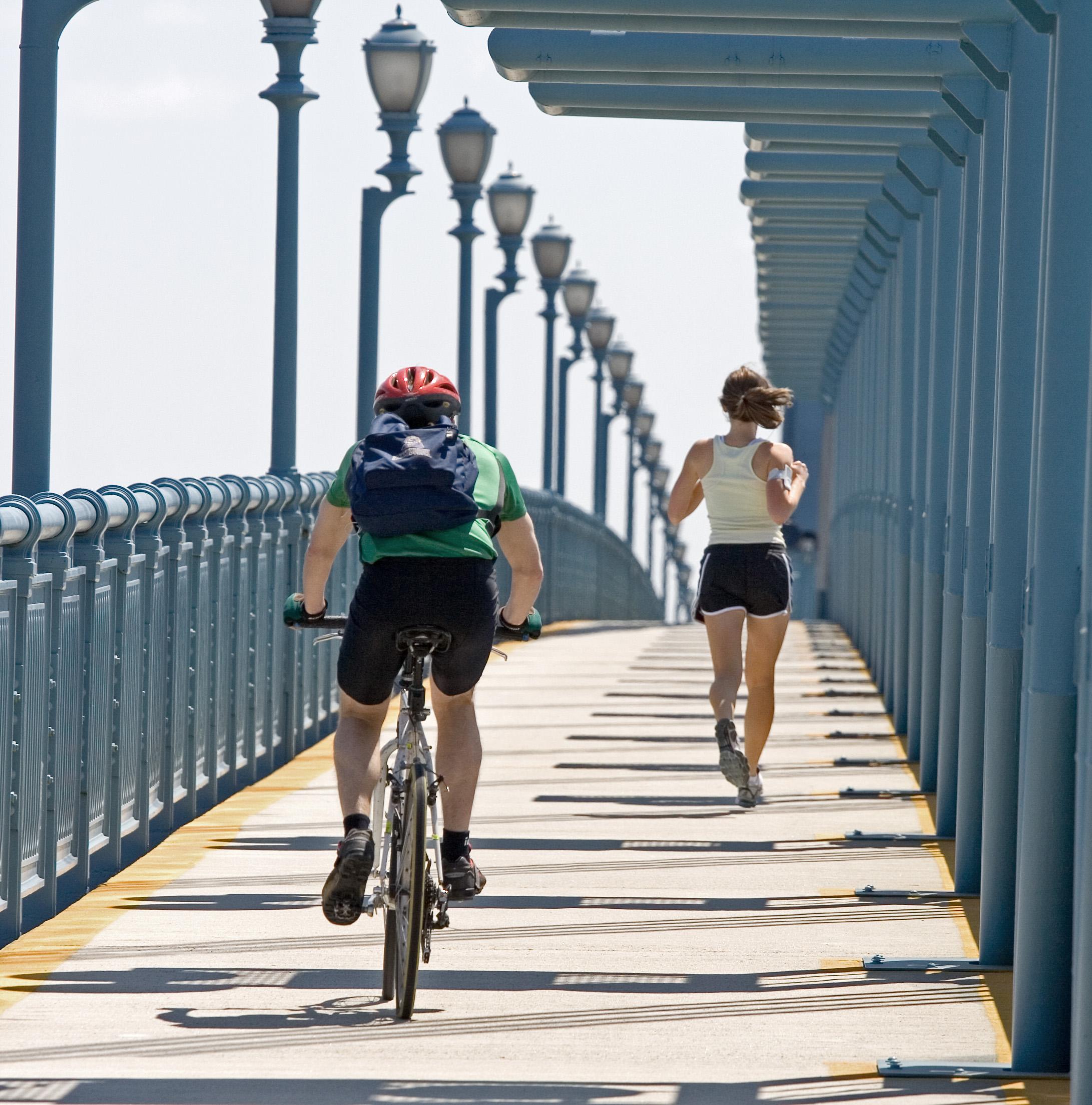 Ben Franklin Bridge Piers