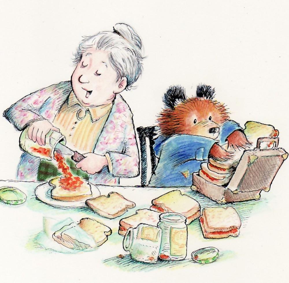 Michael Bond's Paddington Bear Books Illustrations by R.W ... (1000 x 980 Pixel)