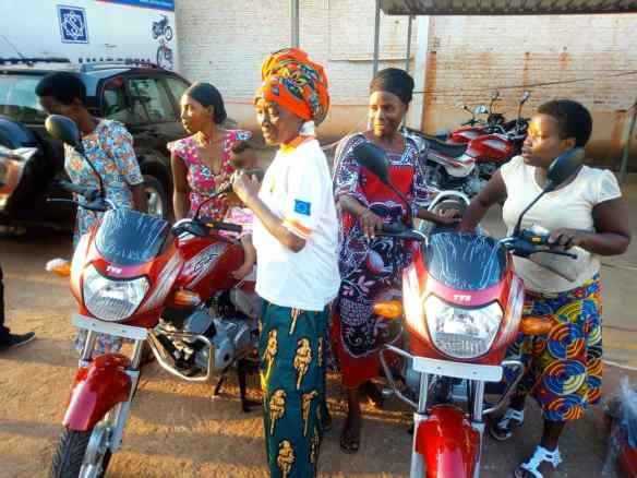 Mothers who will benefit from motorcycles