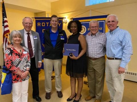 Rotary Honors Jeanine!
