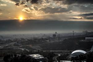 December Sunset in Tehran