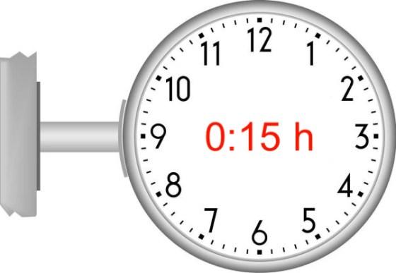 15 Minuten