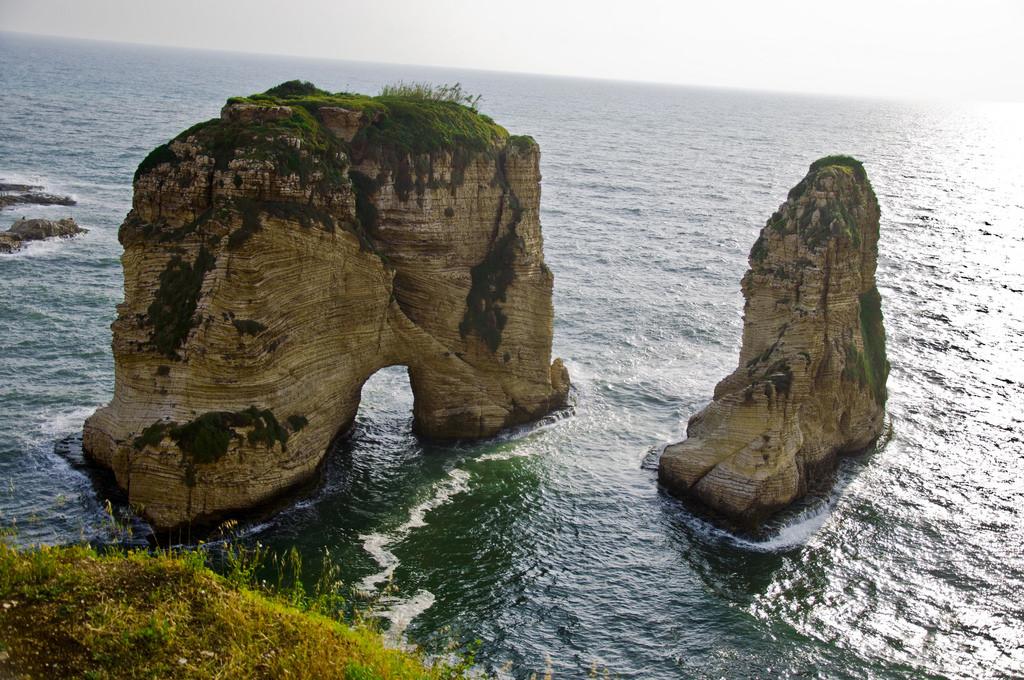 الأماكن الطبيعية في لبنان