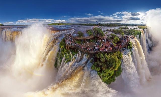 شلالات اجوازو، الأرجنتين والبرازيل و الباراغواي - أمريكا الجنوبية