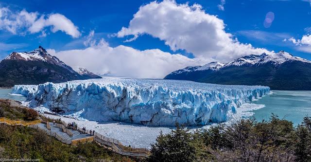 النهر الجليدي ، بوريتو مورينو جلاسير - أمريكا الجنوبية