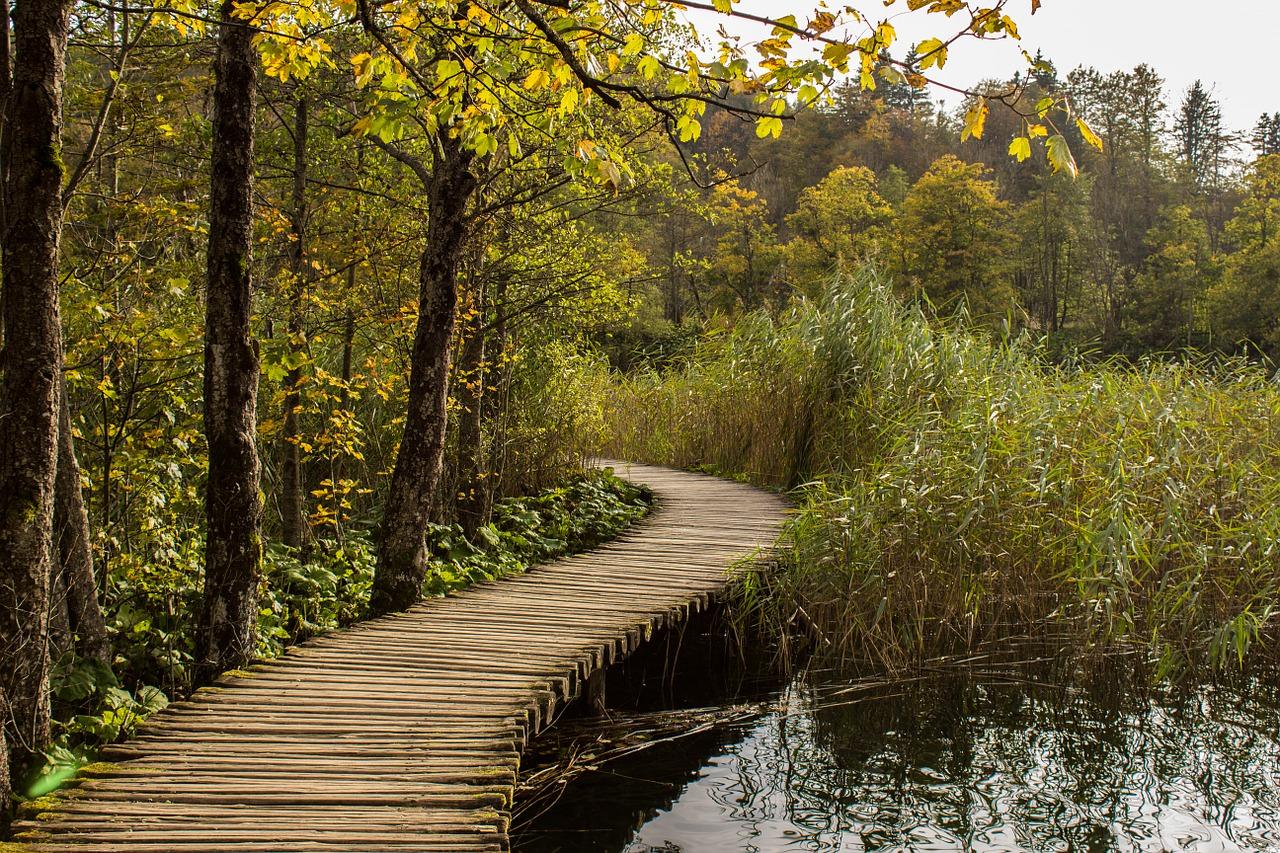 حديقة بحيرات بليتفيتش الوطنية في كرواتيا