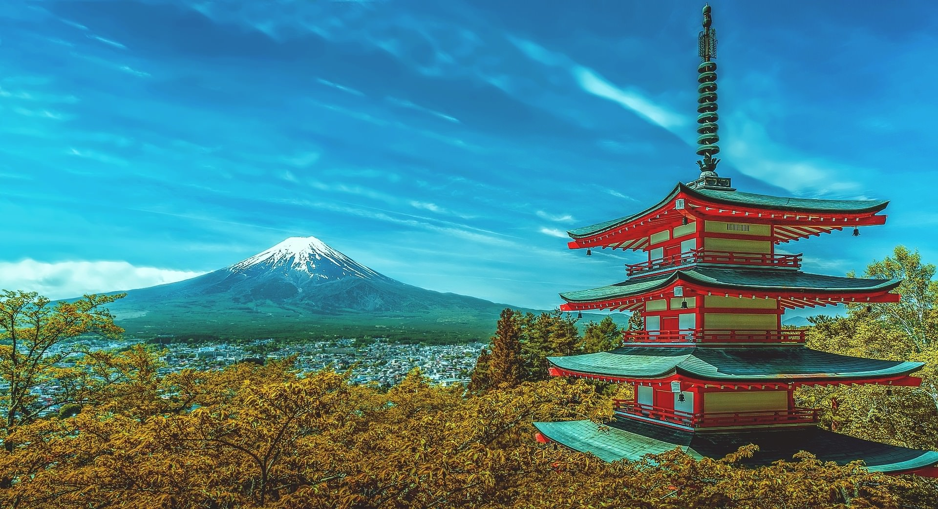 أجمل 10 عجائب طبيعية في اليابان