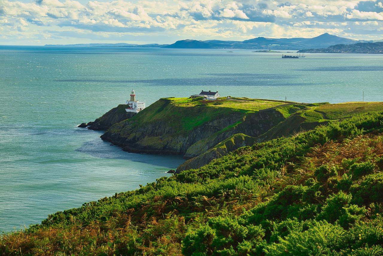 أفضل الشواطئ القريبة من دبلن ، أيرلندا