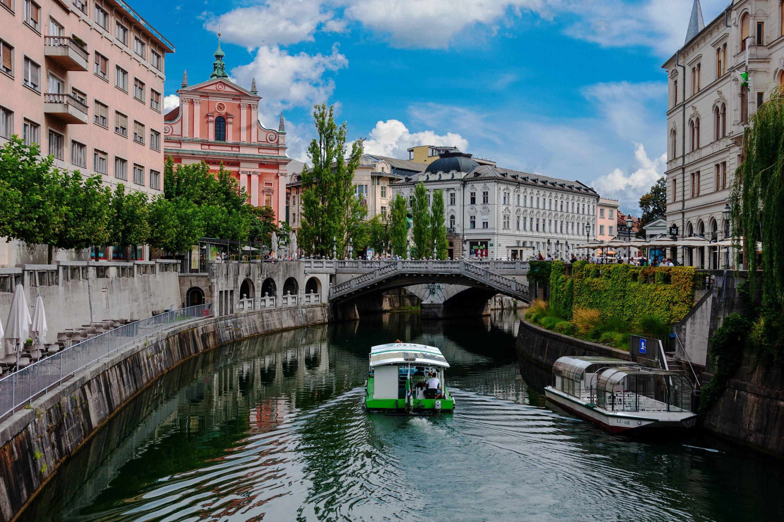 أجمل الوجهات السياحية في ليوبليانا ، سلوفينيا