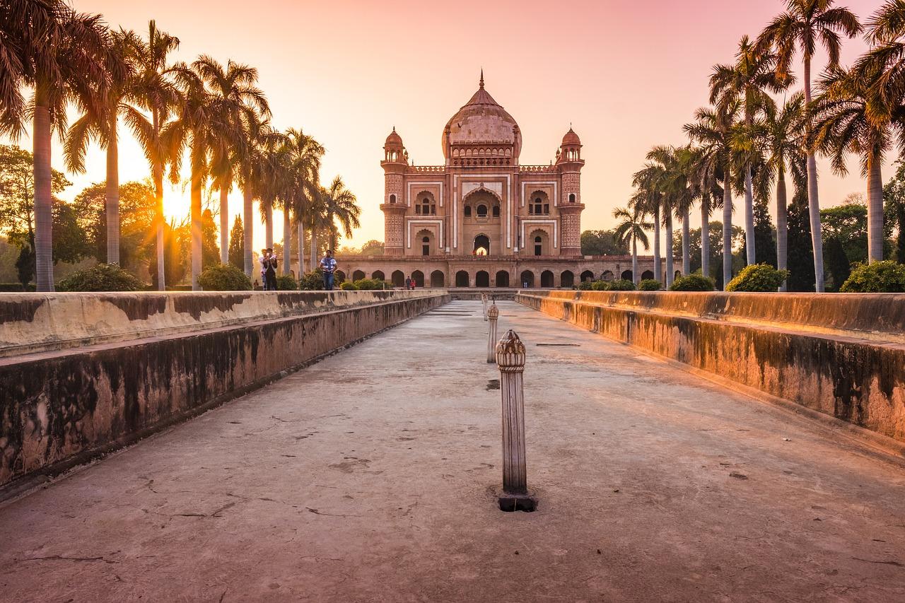جولة في معالم نيودلهي المعمارية ، الهند