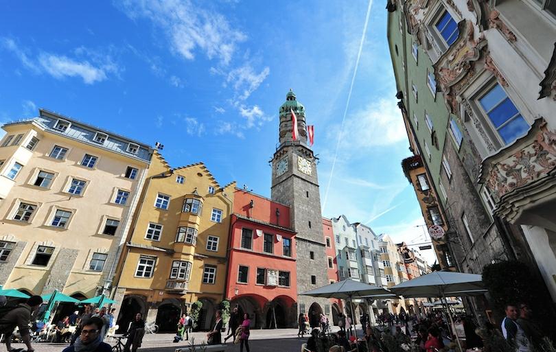 معالم وأماكن لا تُنسى في إنسبروك ، النمسا
