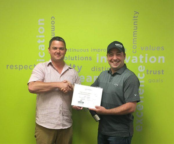 June GEM Award Recipient – Aaron B.