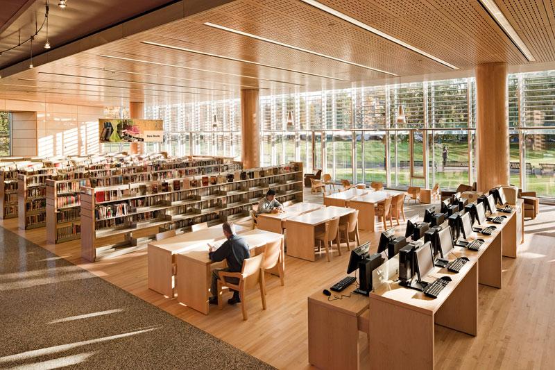 Cambridge Public Library Interior