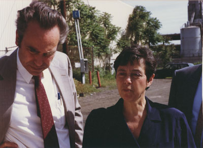 Fred Salvucci & Alice Wolf