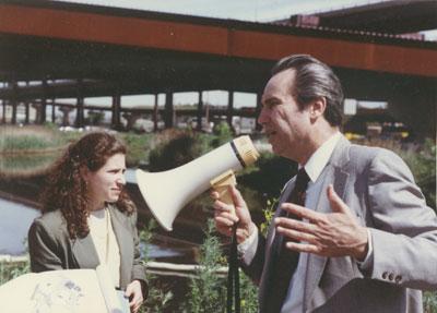 Liz Epstein & Fred Salvucci
