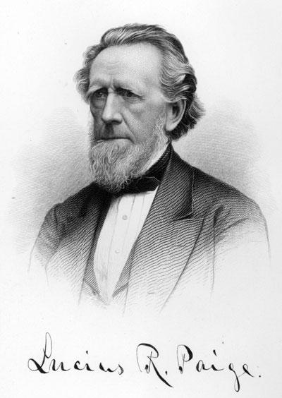 Lucius R. Paige portrait