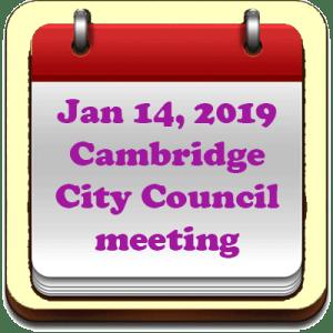 Calendar - Jan 14, 2019