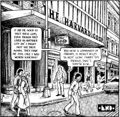 Harvard Square - from an American Splendor story by Harvey Pekar