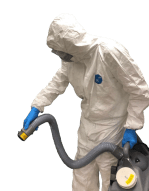 RWK Services technician performing Covid 19 disinfection services