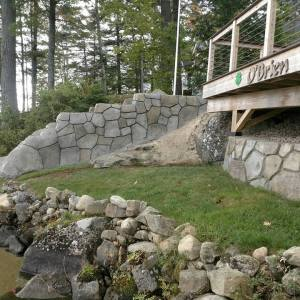 Retaining Walls and Landscape Features
