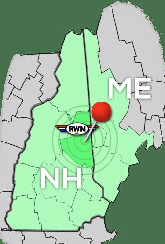 RWN Service Area Map