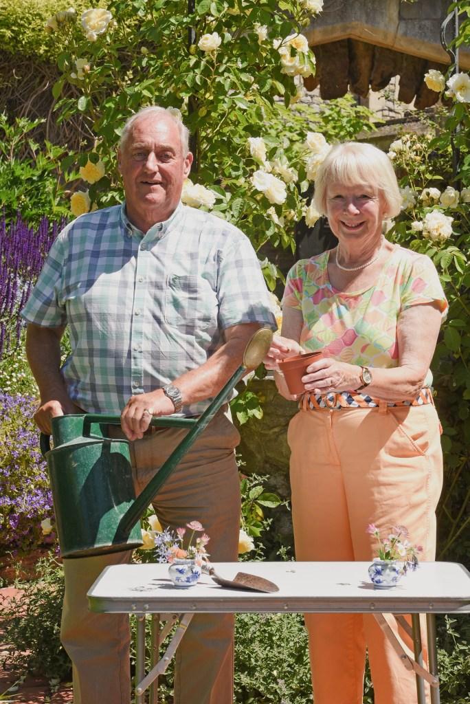 Sir James and Lady Nicola Perowne